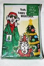 New ListingBrand New Sealed Hallmark Maxine Merry Christmas Greeting Cards 18 Count