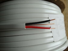 1.5mm 2Core+E Twin and Earth Cable Old Wiring Colours Red Black 6242Y White T&E