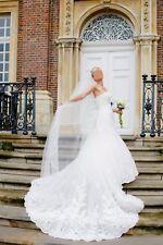 San Patrick Carpatos Brautkleid Hochzeitskleid Ivory Größe 36 S NEU 2375€