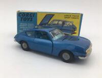 Original Boxed Corgi Toys 332 Lancia Fulvia Sport Zagato