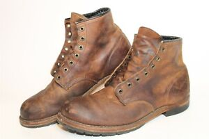 Red Wing USA Made Beckman 4579 Mens 44.5 11 D Distressed Leather Chukka Boots