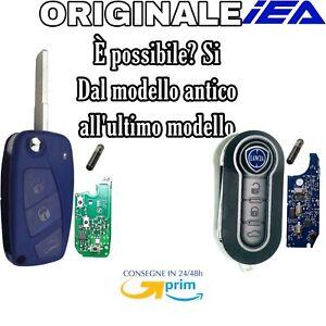 🇮🇹Chiave telecomando per LANCIA Y musa delta ect Con CHIP Diventa new MODELLO