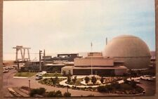 Old Postcard San Onofre Nuclear Generating Station Located On Pacific Coast