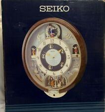 HARD TO FIND SEIKO MELODIES IN MOTION CLOCK - HI-FI - QXM109ZRH - WORKS GREAT!!!