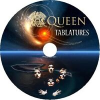 QUEEN BASS & GUITAR TAB CD TABLATURE GREATEST HITS BEST ROCK MUSIC FREDDY
