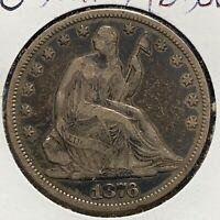 1876 50C Liberty Seated Half Dollar (52165)