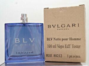 Bvlgari BLV Notte Pour Homme Eau de Toilette 100ml / 3.4oz spray new