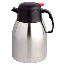 1 LITRE LTR 4 COLOURS AIRPOT HOT TEA COFFEE DRINKS VACUUM FLASK JUG
