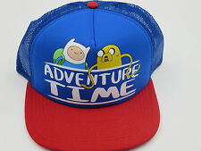 Adventure Time Jake Finn Bioworld Officially Licensed Red Snapback Hat