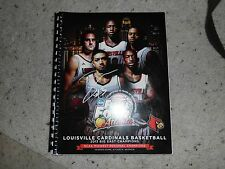 Louisville Cardinals Basketball Peyton Siva Signed 2013 NCAA Media Guide