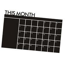 Tableau mensuel Tableau noir Tableau mural Décor mural Décembre Calendrier
