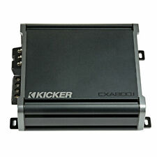 Kicker 46Cxa800.1 800 Watts Class-D Mono Car Subwoofer Amplifier *46Cxa8001