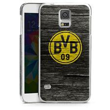 Samsung Galaxy S5 Handyhülle Case Hülle - BVB Holzoptik