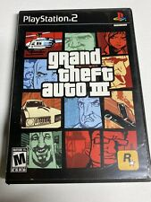 Grand Theft Auto San Andreas GTA Sony PlayStation 2 PS2 Works Great! Manual