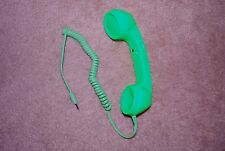 Green  Radiation Proof Retro Mic Cell Phone Handset for Mobile Phone 3.5mm