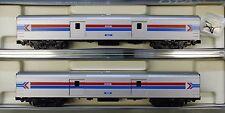 N Scale - KATO 106-3512 AMTRAK Phase I Baggage Cars 2-Car Set - Hard to Find