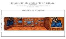 """Deluxe Control Center"" Pop-Up DIorama Display 1/12 Scale Action Figures"