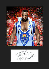 BIG E #1 (WWE) Signed (Reprint) Photo A5 Mounted Print - FREE DELIVERY