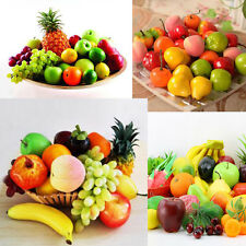 Realistic Artificial Plastic Fruit Kitchen Fake Display Party Home Food Decor UK