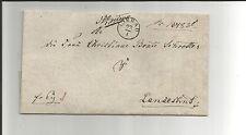 Pr Vor / LIEBAU Fgh.-Stpl. a. Retour-Brief n. Landeshut, rs. Brieftr.-Vermerk