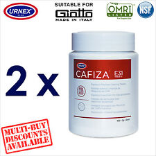 2 x Urnex 100 Cleaning Tablets Cleaner organic for Giotto Espresso Machine