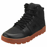 DC Shoes Pure High-top Wr Boot Mens Black Gum Leather & Textile Casual Trainers