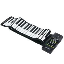 88 Key MIDI Flexible Silicone Electronic Keyboard Roll Up Piano Portable Q5J8