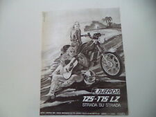 advertising Pubblicità 1979 MOTO LAVERDA LZ 125 - 175
