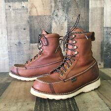 Red Wing 894 Moc Toe Work Boots Men's 10d