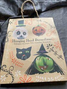 Meri Meri DIY Hanging Head Halloween Party Fun Decorations Makes 4 - 754