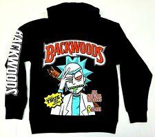 BACKWOODS Hooded Sweatshirt Smoke Weed 420  Blunt Wrap Pullover Hoodie Men's New