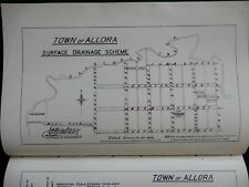 Report on Town of Allora Drainage. 1886.