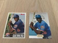 1995 Vladimir Guerrero Bowman and Bowman's Best Rookie Cards