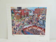 """LIMITED EDITION JOE SCARBOROUGH PRINT """"OUR UNIVERSITY"""", SIGNED BY AUTHOR  #NSDC#"""