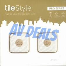 Tile Style Pro - Key Finder. Phone Finder. Anything Finder - 2 Pack, Gold