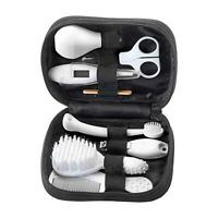 Baby Healthcare Grooming Kit Tommee Tippee Pouch Set Brush Comb Thermometer NEW