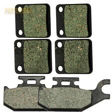 Front Rear Kevlar Carbon Brake Pads fit YAMAHA YFM 400 Kodiak YFM 450 Grizzly