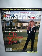 NASCAR Illustrated Winston Cup Teresa Earnhardt Person of the Year Dec 2001