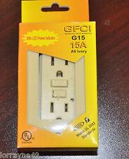 10PC ORBIT G15 15-125V 15Amp GFCI  NEW W/ LED POWER INDICATOR GROUNF FAULT GFI