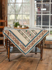 April Cornell Tablecloth French Lotus Collection NWT 100% Cotton Multi Color