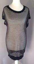All Saints Jaz Tee Dress Oversized Layering Wool Gold Size 4-6-8 BNWT