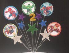 Marvel Cake Toppers & Cupcake Picks
