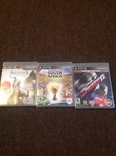 Playstation 3 NEED FOR SPEED HOT PURSUIT 2010 FIFA SOUTH AFRICA ASSASINS CREED 3
