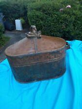 ANTIQUE COPPER MOONSHINE STILL WHISKEY great display item historic boiler