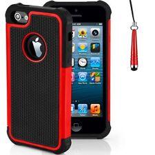 Housses et coques anti-chocs rouge Apple pour téléphone mobile et assistant personnel (PDA)