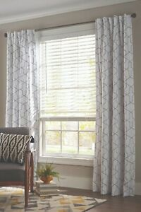 Better Homes & Gardens 2-inch Cordless Faux Wood Blinds, White, 32'' x 64'' L