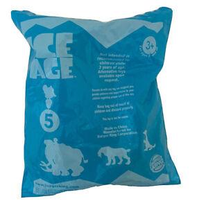 2002 Burger King Meal Toy Ice Age; #5 LEDGE SLEDDING SLOTH- New! Sealed PACKAGE