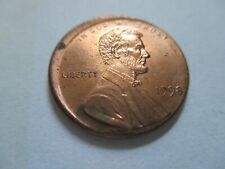 1998-P Lincoln Memorial Penny Broad Strike Error with Full Steps!!! (#2)