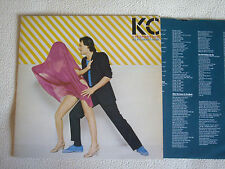 KC & THE SUNSHINE BAND - All in a Night's Work LP Epic Records 1982
