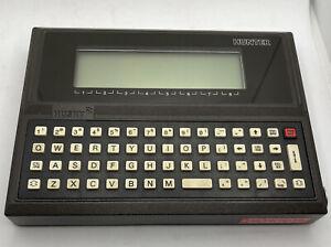 Vintage Husky Hunter 144K Computer~ FUNCTIONAL! World's First Lap top!!!